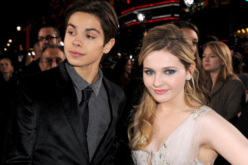 Abigail Breslin Jake T. Austin The Red Carpet at the 'New Year's Eve' Premiere