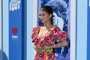 "Zendaya attends the premiere of Warner Bros. Pictures' ""Smallfoot"" at Regency Village Theatre on September 22, 2018 in Westwood, California."