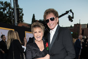 """Lorna Luft and Barry Manilow attend the premiere of Warner Bros. Pictures' """"A Star Is Born"""" at The Shrine Auditorium on September 24, 2018 in Los Angeles, California."""