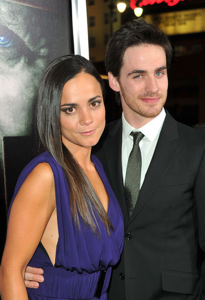 "Actors Alice Braga  and Colin O'Donoghue arrive at Warner Bros. ""The Rite"" premiere at Grauman's Chinese Theatre on January 26, 2011 in Los Angeles, California."