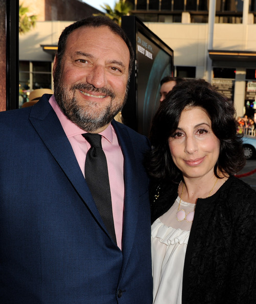 Executive producer Joel Silver (L) and Warner Bros. Sue Kroll arrive at the premiere of Warner Bros. Pictures'