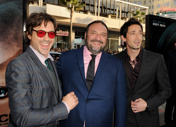 (L-R) Actor Robert Downey Jr.,