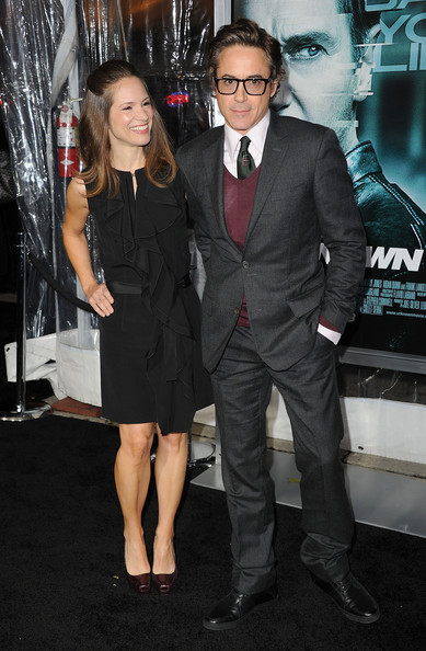 "Executive Producer Susan Downey and actor Robert Downey Jr.  arrive at the Los Angeles premiere of ""Unknown"" at the Mann Village Theater on February 16, 2011 in Westwood, California."