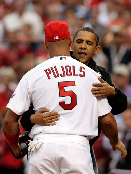Albert Pujols Needs a Hug