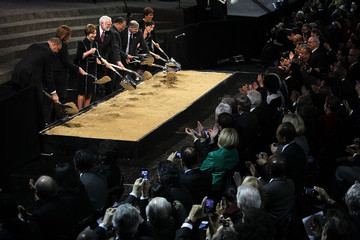 Richard Kurin President Obama Attends Nat'l Museum Of African American History And Culture Groundbreaking Ceremony