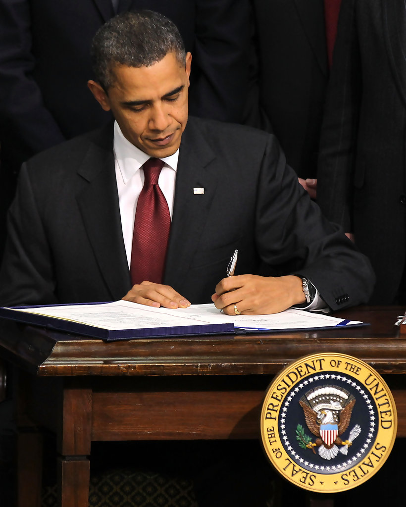 President Obama Signs The Compromise Tax Cut Bill
