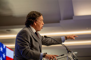 Former Governor of New Mexico Bill Richardson speaks at the Conference on Iran on May 5, 2018 in Washington, DC. Over one thousand delegates from representing Iranian communities from forty states attends the Iran Freedom Convention for Human Rights and Democracy.