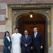 Asifa Bhutto Zardari President Zardari Arrives For Dinner With David Cameron At Chequers