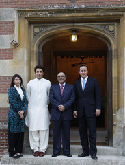 Bilawal Bhutto Zardari President Zardari Arrives For Dinner With David Cameron At Chequers