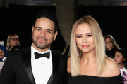 Justin Scott and Kimberley Walsh attend the Pride Of Britain Awards at Grosvenor House, on October 30, 2017 in London, England.