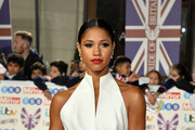 Vick Hope attends Pride Of Britain Awards 2019 at The Grosvenor House Hotel on October 28, 2019 in London, England.