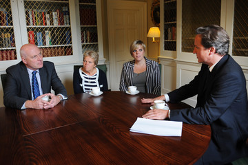 Gemma Dowler Prime Minister David Cameron Meets The Family Of Milly Dowler