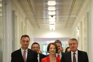Prime Minister Julia Gillard Gillard Defeats Rudd In Leadership Battle
