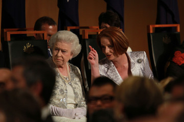 Prime Minister Julia Gillard Queen Elizabeth II And Duke of Edinburgh Visit Australia - Day 3