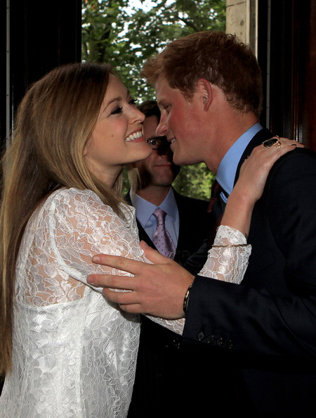 prince harry caroline flack. Prince Harry and Fearne Cotton