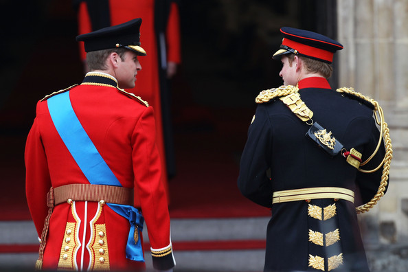 Prince Harry Prince William of Wales L with his brother Prince Harry of