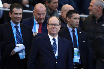 Prince Albert II Italy v France - RBS Six Nations