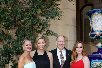 Prince Albert II Camryn Grimes 59th Monte Carlo TV Festival: Cocktail At The Monaco Palace