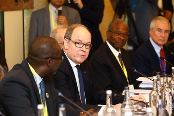 Prince Albert Of Monaco The Prince Of Wales Attends WaterAid's Water And Climate Event