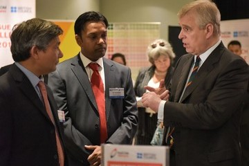 Prince Andrew Britain's Prince Andrew Pays a Visit to the Malaysian Science Community