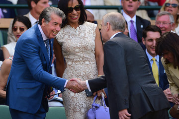 Prince Andrew Day Eleven: The Championships - Wimbledon 2015