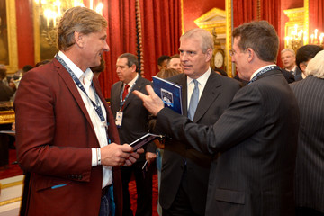 Prince Andrew Duke of York Attends London Global African Investment Summit