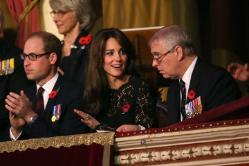Prince Andrew The Royal Family Attends the Annual Festival of Remembrance
