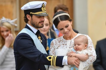 Prince Carl Philip Christening of Prince Alexander of Sweden
