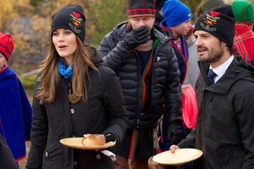 Prince Carl Philip Prince Carl Philip of Sweden and Princess Sofia Visit Dalarna - Day 2