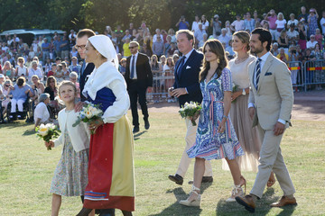 Prince Carl Philip The Crown Princess Victoria Of Sweden's Birthday Celebrations