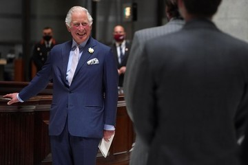 Prince Charles The Prince Of Wales Visits Lloyd's And Hosts An Insurance Task Force Meeting