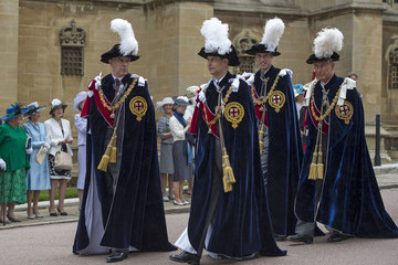 Prince Charles Earl Of Wessex The Order of the Garter Service