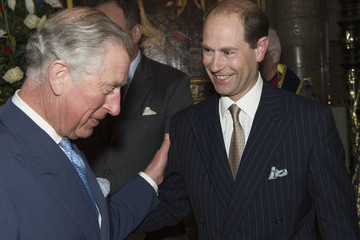 Prince Charles Earl Of Wessex Commonwealth Observance at Westminster Abbey