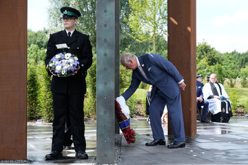 Prince Charles VIPs Attend The Dedication Ceremony Of The National UK Police Memorial