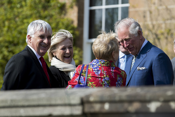 The Prince Of Wales And Duchess Of Cornwall Attend The Reopening Of Hillsborough Castle And Gardens