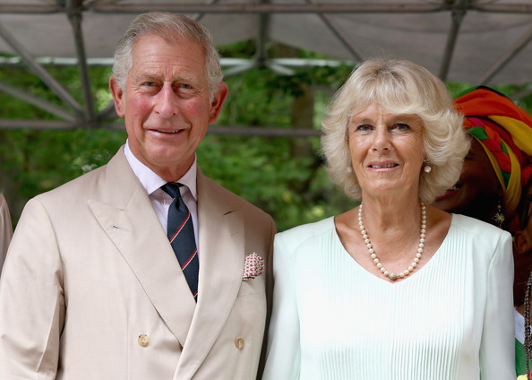 Camilla, Duchess of Cornwall and Prince Charles, Prince of Wales during a visit to the Museo del Oro Zenu on October 31, 2014 in Cartagena, Colombia. The Royal Couple are on a four day visit to Colombia as part of a Royal tour to Colombia and Mexico. After fifty years of armed conflict in Colombia the theme for the visit is Peace and Reconciliation.