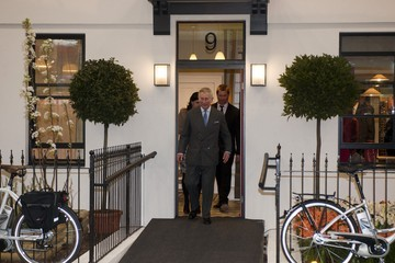George Clarke Prince Charles Visits 'The Prince's House' At The Ideal Home Show