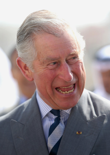 Prince Charles, Prince of Wales arrives at St Issac and St George Greek Orthodox Church on February 21, 2014 in Doha, Qatar. The Prince is on a three day solo visit to Qatar following a short visit to Saudi Arabia.
