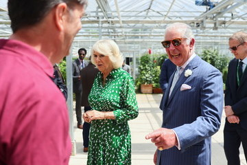 Prince Charles The Prince Of Wales And The Duchess Of Cornwall Visit Hyde Park