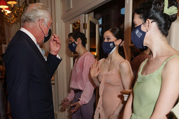 Prince Charles The Prince Of Wales And The Duchess Of Cornwall Visit The Royal Opera House