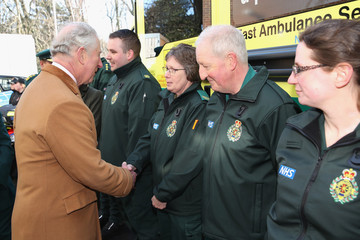 Prince Charles The Prince Of Wales Visits Durham