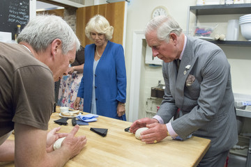Prince Charles Prince Of Wales & Duchess Of Cornwall's Annual Summer Visit To Wales