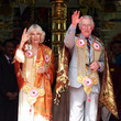 Prince Charles of Wales The Prince Of Wales & Duchess Of Cornwall Visit Singapore, Malaysia, Brunei And India - Day 8