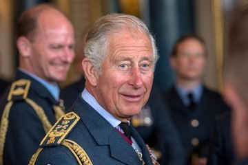 Prince Charles Reception At Buckingham Palace To Commemorate The Royal Air Force's 100th Birthday