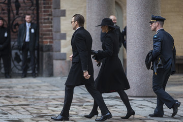 Prince Daniel Official Ceremony For Victims Of Attacks in Stockholm