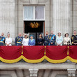 Prince Members Of The Royal Family Attend Events To Mark The Centenary Of The RAF