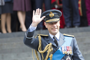 Prince Edward Battle of Britain 75th Anniversary St Paul's Cathedral Service