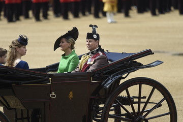 Prince Edward Trooping The Colour 2019