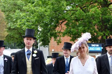 Prince Edward Countess of Wessex 2021 Royal Ascot - Fashion, Day Two