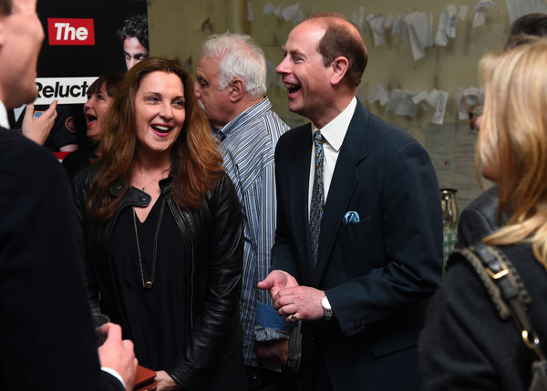 The Earl of Wessex Attends a Performance at National Youth Theatre